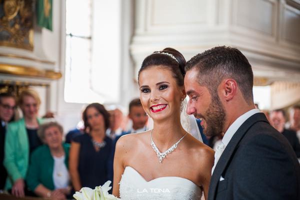 Braeutigam trifft auf die Braut