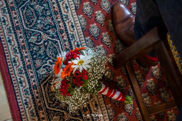 Blumenstraus der Braut